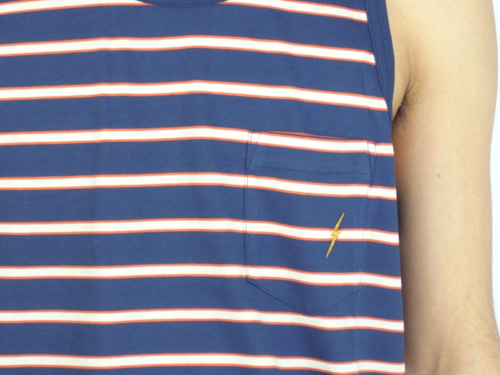 Lightning Bolt WOODS POCKET TANK