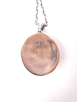 KETO ENGRAVING NECKLACE TURQUOISE