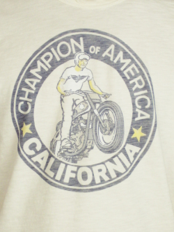 JOHNSON MOTORS Inc. CHAMPION OF AMERICA DIRTY WHITE