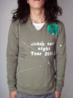 GRAB IN HOLLYWOOD?JOHN'S SURF TOUR 2008 HOODIE