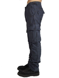 M REPAIR MILITARY CARGO PANTS BLACK