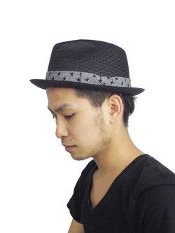 M WAY FARER HAT BLACK