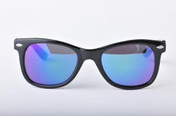 ELEBROU Waikiki Black Blue Mirror Lens