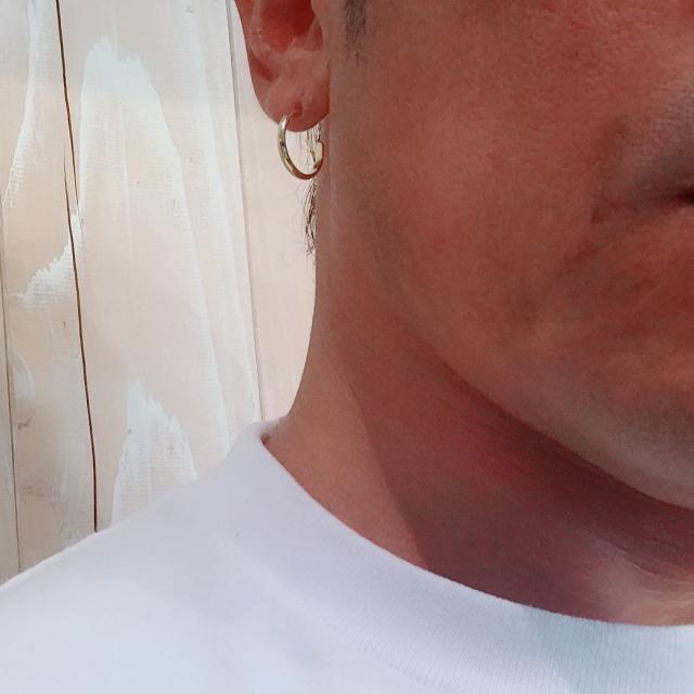 EBB TIDE Pierced Earrings 「海に入る時でも肌身離さず着用できる」